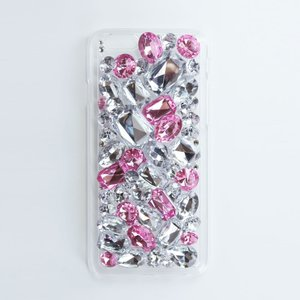 DRESSTIC JEWEL DROP DECO FANCY PINK デコファンシーピンク iPhone6/6sケース|caseplay
