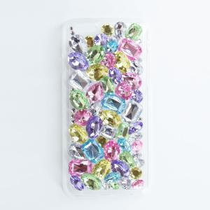 DRESSTIC JEWEL DROP DECO SWEET PASTEL デコスウィートパステル iPhone6/6sケース|caseplay