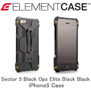 正規代理店 G-10 タフケース ELEMENTCASE Sector 5 Black Ops El...