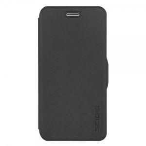 LEDGER with Metal Kickstand for iPhone6/6s Dark Gray スタンド 手帳型 カード収納|caseplay