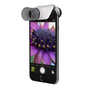 クリップレンズ  MACRO PRO for iPhone 6 & iPhone 6 Plus Black Lens / Clip:White + Pendantsセルカレンズ・接写|caseplay