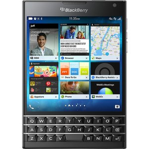 スマホ 端末 BlackBerry Passport Black SIMフリー ブラックベリー パスポート 32GB 日本正規代理店|caseplay