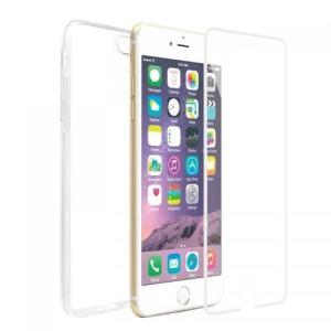 ガラス 保護シート 2PIECES FULL PROTECTOR White for iPhone6 Plus/6s Plus 強化ガラス ハードケース 側面・背面セット 10H 飛散防止 caseplay