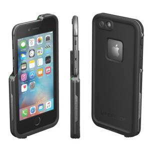 防水ケース LifeProof  fre for iPhone6 Plus/6s Plus Black 防水 防塵 耐衝撃 ライフプルーフ 6プラス 指紋センサー 安心保障サービス付き|caseplay