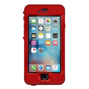 防水ケース LifeProof  nuud for iPhone 6s Campfire Red 防水・防塵・耐衝撃 ライフプルーフ iPhone 防水 ケース 安心補償サービス付き|caseplay