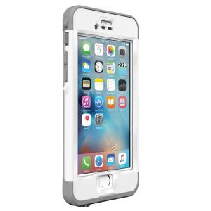防水ケース LifeProof  nuud for iPhone6s Plus White 防水・防塵・耐衝撃 ライフプルーフ iPhone 防水 ケース 安心補償サービス付き|caseplay