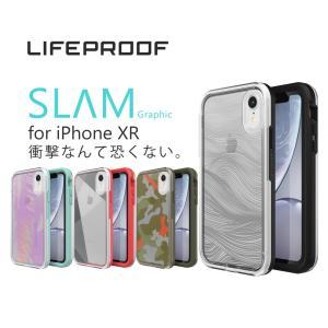 LIFEPROOF SLAM Graphic for iPhone XR対応 スマートフォンケース ...