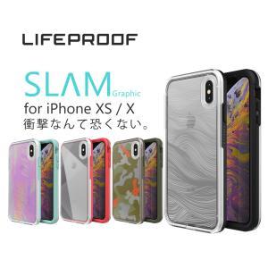 LIFEPROOF SLAM Graphic for iPhone XS / X対応 スマートフォン...