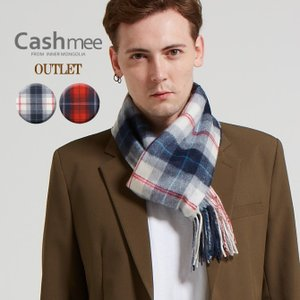 OUTLET『Cashmee カシミヤ100% タータンチェック マフラー 全2色』マフラー/レディース/メンズ/ファッション/カシミヤ/カシミア|cashmee