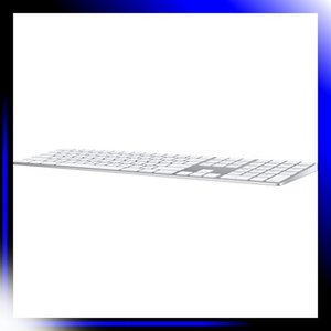Magic Keyboard テンキー付き - 英語 US - シルバー