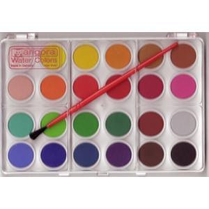固形水彩絵の具 24色|cassiopeia