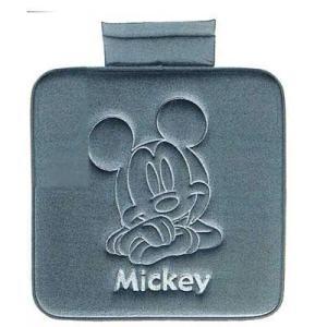 Disneyミッキー プレスベロアクッション 角 GR ★カー用品★ キャラクター雑貨 ラフラフ