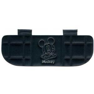 Disneyミッキー ● プレスベロアクッション トリプル BK ★カー用品★|cast-shop