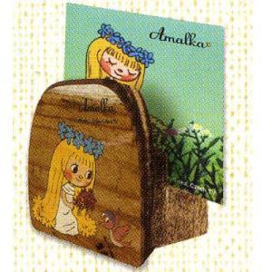 アマールカ ● 木製カードスタンド アマールカ&ヒワ |cast-shop