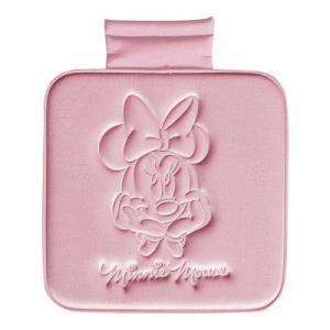 Disneyミニー クッション ヒップ型 ピンク ★ミニープレスベロア★★カー用品★[649626] キャラクター雑貨 ラフラフ