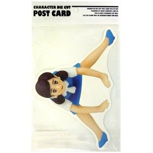 コップのフチ子 ダイカットポストカード バランスフチ子 |cast-shop