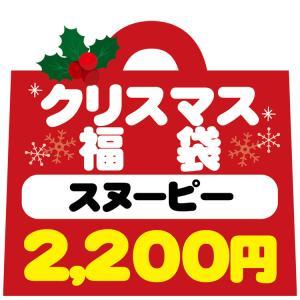 12/8以降〜出荷 クリスマスの袋入り〔xwrap60〕 福袋・ラッピング不可  1690 スヌーピー クリスマス福袋