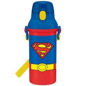 スーパーマン ●  [PSB5SAN]食洗機対応直飲みプラワンタッチボトル 480ml|cast-shop