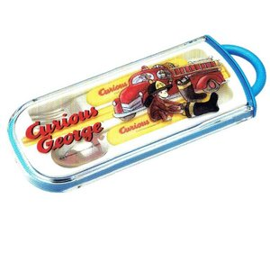 おさるのジョージ ●  トリオセット 消防車 [152882]|cast-shop