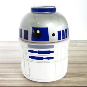 スターウォーズ ● 漆器二段ランチBOX R2−D2 [164130]|cast-shop