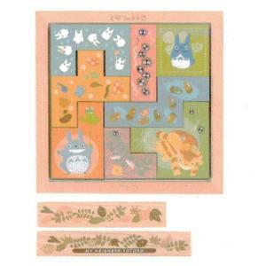 となりのトトロ ● 木のタイルパズル[193140]の関連商品4