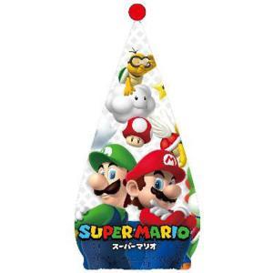 スーパーマリオ ● キャップタオル パワフルチーム [605150]|cast-shop