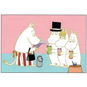 ムーミン  箔ポストカード 飲み物 [182612]...