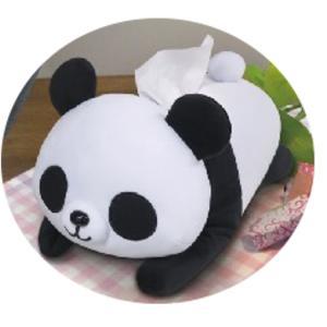パンダ ● ぬいぐるみティッシュカバー[112943] cast-shop