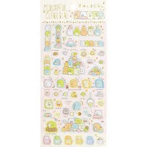 11/10以降〜出荷 すみっコぐらし  カラフルクリアシール SE33604 cast-shop