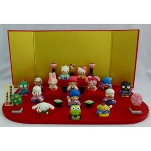 Sanrio ハローキティ 段飾り 15人セット 十五人飾り 雛人形 ひな人形 183225 おしゃれ コンパクトの商品画像|ナビ