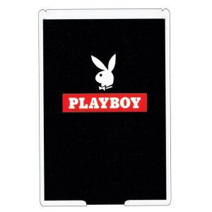 【宅配便での配送になります】 〔PLAYBOY〕 タキシードに蝶ネクタイをつけたウサギの横顔のデザイ...