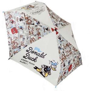 〔ディズニーキャラクター☆Donald Duck〕 みんなが大好きなディズニーから、折り畳み傘が登場...