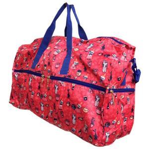 〔Moomin☆ムーミン谷〕  世界中から愛され続けるムーミンよりトラベルポケット大型ボストンバッグ...