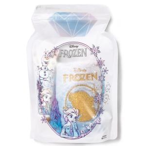 ディズニーアナと雪の女王 ジッパーバッグギフト ハンドクリーム+ハンドタオル エルサ ホワイトムスク...