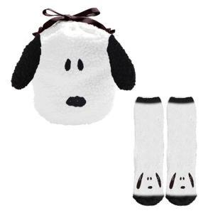 スヌーピー 巾着&靴下 スヌーピーフェイス ウィンターアイテム 731496 の商品画像|ナビ