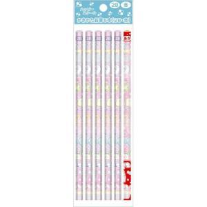 11月26日以降〜入荷次第出荷 すみっコぐらし かきかた鉛筆6本入り 2B5本・赤1本★ハッピースク...