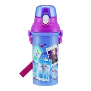 ディズニーアナと雪の女王2 PSB5SAN 食洗機対応直飲みプラワンタッチボトル