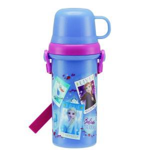 ディズニーアナと雪の女王2 PSB5KD 直飲みコップ付きプラ水筒