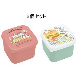 すみっコぐらし ミニシール容器2個セット★ランチマーケット★