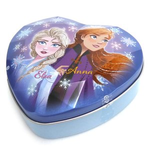 ディズニーアナと雪の女王2 ダイヤカット缶★クリスマスグッズ★★お菓子付き★