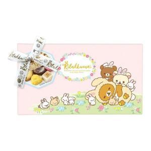 リラックマ 47061 缶&チョコギフト★お菓子付ギフト★