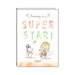 スヌーピー  手帳 2020年スケジュール帳 2019年12月始まり・B6ウィークリー SUPER STAR! ★水彩★ [136194] ラッピング不可
