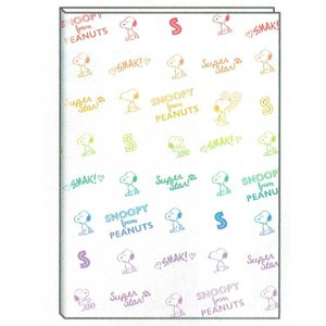 【スヌーピー】2020年2月始まりB6マンスリー手帳 スヌーピー CL/レインボーの商品画像|ナビ
