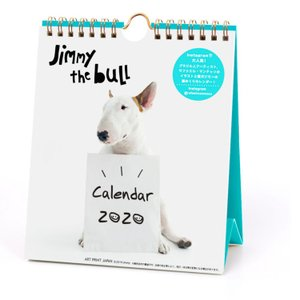 Jimmy the bull  2020年カレンダー 1000109236 週めくり★アニマルフォト...