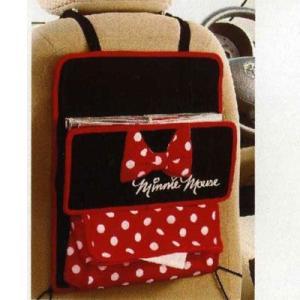 Disneyミニー ● シートバックポケットBK  ラブリーミニー   カー用品 |cast-shop