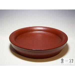 漆器 パン皿 小 赤 赤木明登作 (お皿) cast0217
