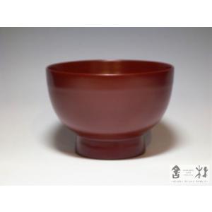 漆器 日々椀 小 赤 赤木明登作 (お椀) cast0217