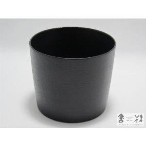 漆器 乾漆 そばちょこA 黒 鎌田克慈作 (猪口 デザートカップ)|cast0217