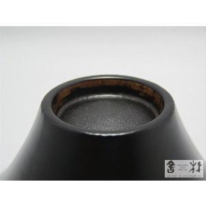 漆器 乾漆 ぐい呑みC 黒 鎌田克慈作 (酒器 デザートカップ)|cast0217|04