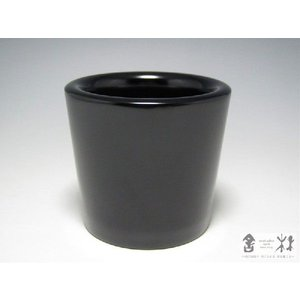 漆器 うるうシリーズ☆こっぷ 小 黒 輪島キリモト 桐本泰一作 (デザートカップ) cast0217
